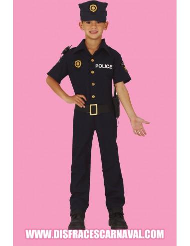 POLICIA AZUL MARINO