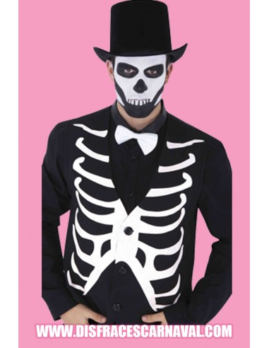 Chaleco esqueleto