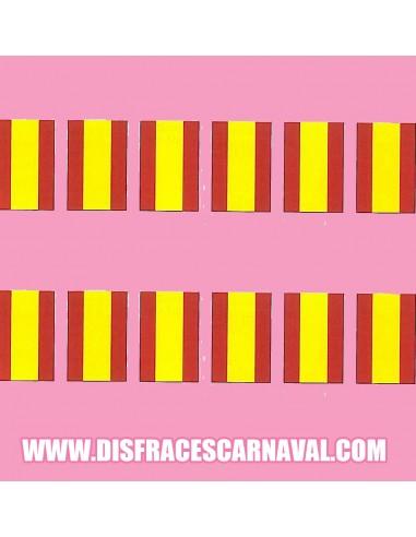 Banderas España Plastico 50m